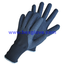 7 Gauge Acrylic Thermal Liner Plus 13G Nylon Outer Liner, Latex Coating, 3/4, Foam Finish Glove
