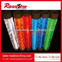 Rouleau de feuilles réfléchissantes PVC prismatique