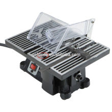 Scie à table basse à onglet électrique de 90 po à 90 po Mini scie à table à onglet électrique 100 mm GW8061-1
