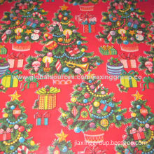 Christmas Gift Wrapping Paper, Any Logo is Available, Low PriceNew