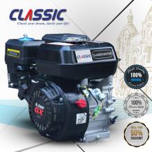 Motor clássico da gasolina de China GX160 GX200 GX210, motor de 110CC 4 Stroke, refrigerado ar motor pequeno da gasolina