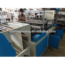 Computer control rolling T-shirt & flat bag making machine valve bag making machine