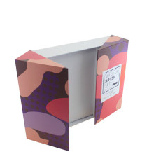 Caixa de papel de dobramento impressa personalizada do grupo de escova da composição