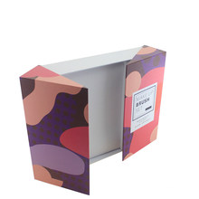 Настроенный набор кистей для макияжа Печатная складная бумажная коробка