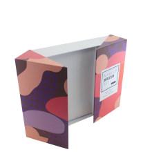 Caja de papel plegable impresa del sistema de cepillo del maquillaje modificado para requisitos particulares