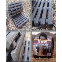 La recuperación rastrea las pistas de agarre de los neumáticos (certificado PAHS) Cables y accesorios de acero galvanizado