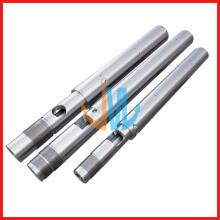 Baril de vis d'injection/baril de vis d'injection bimétallique/baril de vis pour machine d'injection