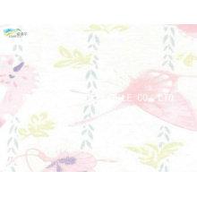 Nylon impresso algodão misturado tecido para têxteis-lar