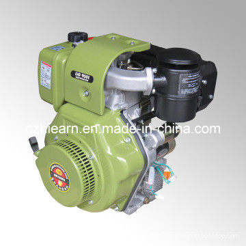 12HP Diesel Engine Luxury Type Army Green Color (HR188FA)