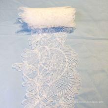 Винтажная цветочная свадебная кружевная лента