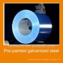 Fabricante de bobina de acero galvanizado pre-pintado en China