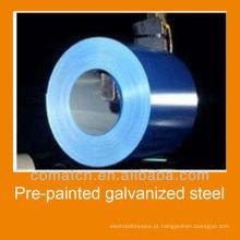Fabricante de bobina de aço galvanizado pré-pintado na China