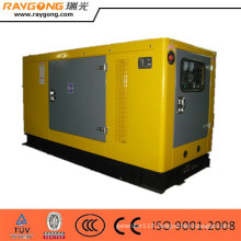 portable diesel generator 45kw, silent generator with electric start