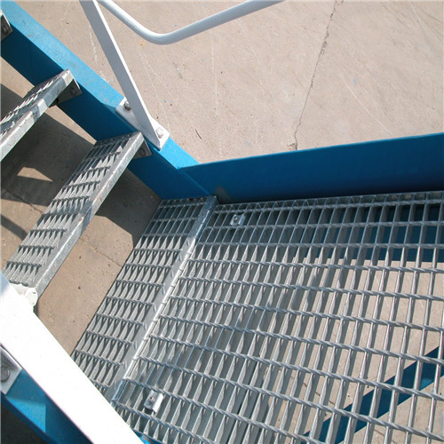 Ditch cover plate steel bar grating