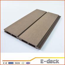 Painel de parede WPC anti-UV amigáveis ao meio ambiente de madeira compósita de plástico