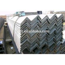 barra de ângulo desigual de aço laminada a alta temperatura do aço carbono / barra de ângulo desigual de aço carbono preta preços da fábrica / moinho