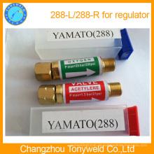 Rückschlagverhinderer für Schlauch Sauerstoff Acetylen 288