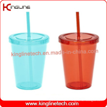 600ml single wall straw cup (KL-SC093)