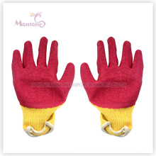 21gauge Palm Nitrile Dipped Cotton Safety Working Gloves, Garden Gloves
