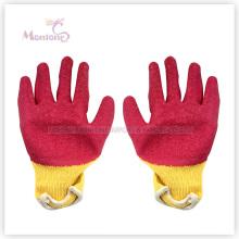 21gauge для Palm Окунутый Нитрил хлопок Рабочая защитные перчатки, перчатки сада