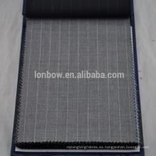 Traje de lana Marino de alta calidad para hombres de verano y otoño