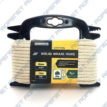 Solid Braid Cotton Sash Cord Hank