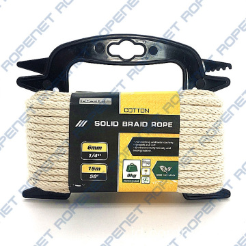 Solid Braid Cotton Sash Cord Hank