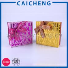 Boîte de papier doux boîte papillon emballage cadeau boîte de papier