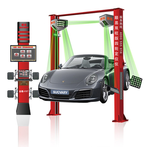 5D Wheel Alignment for 2 post Lift
