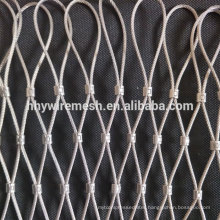 Stainless steel wire rope mesh decorate rope netting security zoo mesh