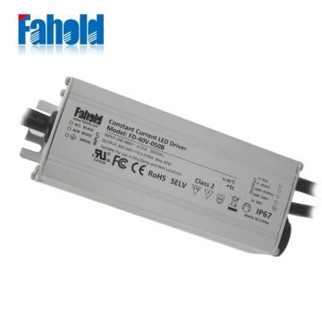 Su geçirmez LED Sürücü Yüksek Gerilim 480Vac Giriş.