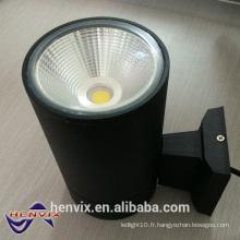 Lumière LED murale extérieure, lampe de projecteur murale à 15 watts