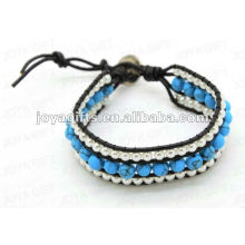 Friendship Turquoise Beads Wrap Bracelets