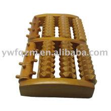 Productos sanos del Massager del pie de madera