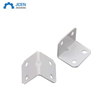 Custom aluminum profile accessories 90 degree angle L shaped interior bracket