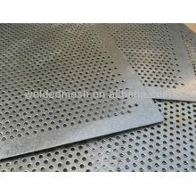 Hoja de metal perforada