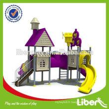 Équipement de terrain de jeux extérieur pour enfants, aire de jeux pour le jardin, aire de jeux pour enfants parc d'attractions