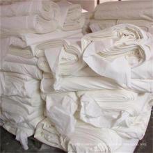 Tecido de Rayon cinza atacado para vestuário / tingimento