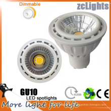 7W Dimmable GU10 LED Light COB LED pour la maison