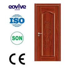 alta calidad sin formaldehído y tolueno madera mdf ambiental puerta interior