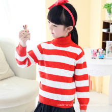 cheap autumn stylish round collar long sleeve sweater, thick pure wool sweater