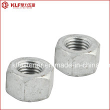 A563 Grade a Hex Nuts HDG (TAPPED OVERSIZE IFI)