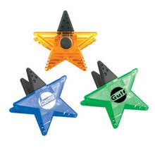 star shape magnetic clip