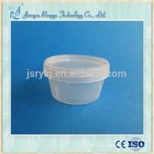 30ml Copo descartável do escarro do material dos PP com tampão