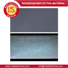 High gloss reflective pvc foam leather for garment