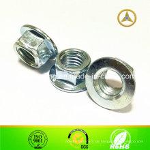 DIN6923 / GB6187 / 86 / ISO4161 Hexagon Flansch Mutter M5 ~ M40