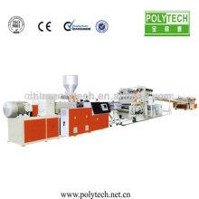 PP, PE, PVC, ABS, máquina de extrusión de láminas de plástico de PET plástico estirador de hoja máquina/2015