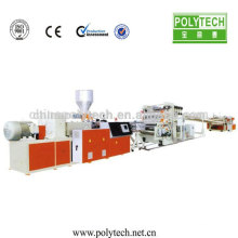 PP,PE,PVC,ABS,PET Plastic Sheet Extruder Machine/2015 plastic sheet extrusion machine