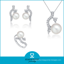 Genuine Ivory Silver Jewellery Set for Gift Usage (J-0105)