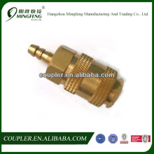 Promotional best quality quick brass refrigeration copper fittings